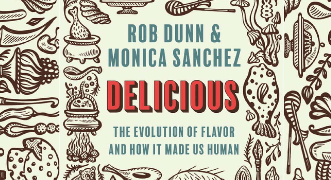 Cover of Rob Dunn's Book Delicious